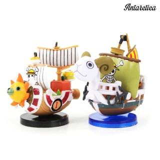 Antarctica HOT Anime One Piece Meri Thousand Sunny Pirate Ship Boat Figure Model Decoration