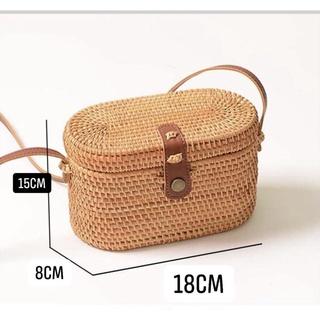 Túi xách mây tre đan, beach bag, Environmental friendliness, thân thiện với môi trường thumbnail