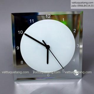 Phôi đồng hồ thuỷ tinh vuông có số