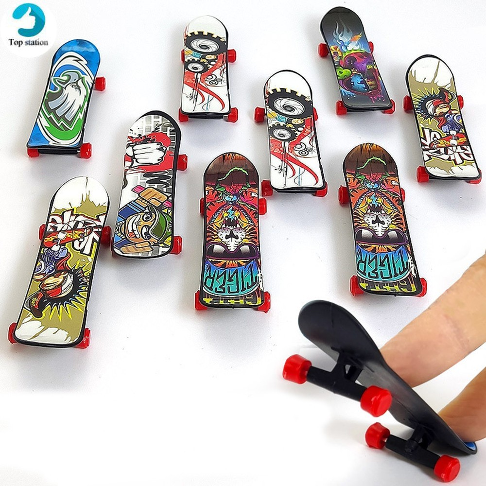 Mini Finger Skateboard Children Educational Toys Creative Fingertip Sports