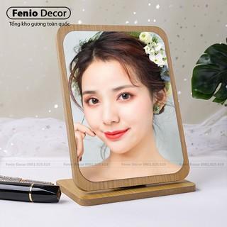 Gương để bàn trang điểm Hàn Quốc thumbnail