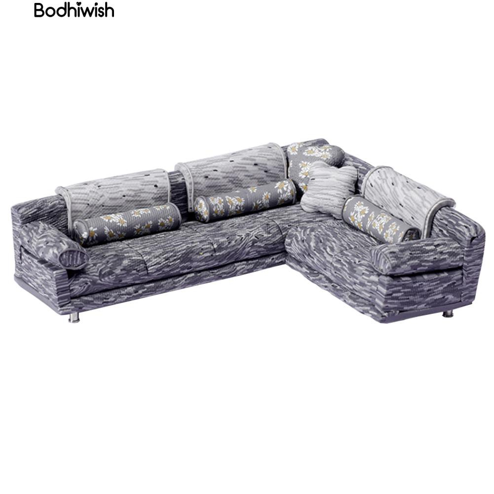 1/25 Scale Ceramic Sofa Set DIY Furnitureature Accessory