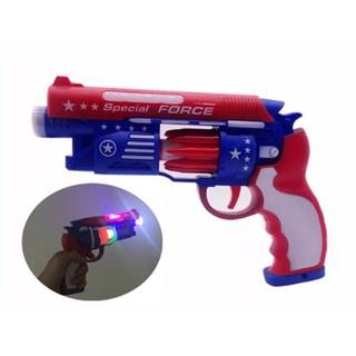 Súng đồ chơi dùng pin có nhạc và đèn thumbnail