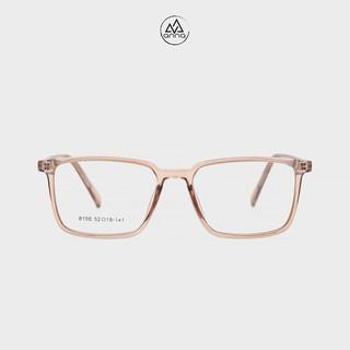 Gọng kính cận nam nữ ANNA dáng vuông thời trang chất liệu nhựa dẻo 170HQ056