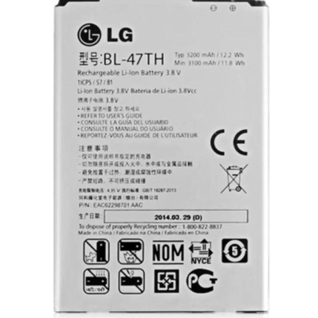 Pin điện thoại LG G Pro 2 F350 D838 BL-47TH - 3399039 , 561152024 , 322_561152024 , 99000 , Pin-dien-thoai-LG-G-Pro-2-F350-D838-BL-47TH-322_561152024 , shopee.vn , Pin điện thoại LG G Pro 2 F350 D838 BL-47TH