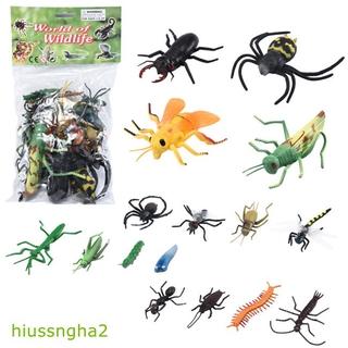 12pcs/set Simulation Animal Dinosaur Model Toy Insect Model for Kids