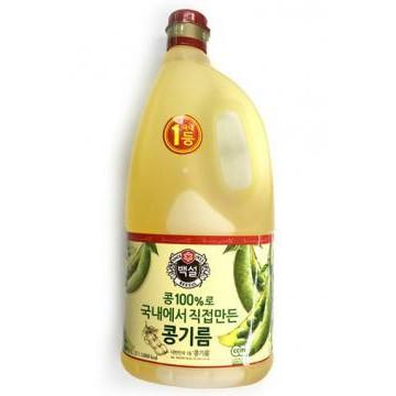 Dầu đậu nành Beksul Hàn Quốc Nhập Khẩu 1,8L