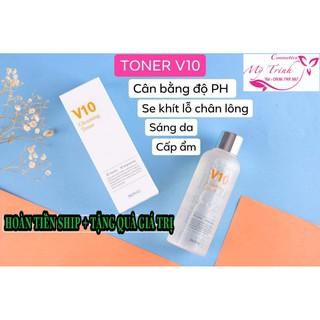 TONER V10 Gleaming Toner – Cải thiện da xỉn màu và nhược điểm của da bằng cách tái tạo làn da thực sự!
