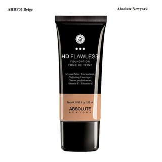 Kem nền Absolute NewYork HD Flawless Fluid Foundation AHDF01-03 thumbnail