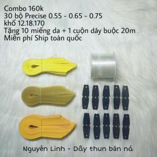 Combo 30 bộ thun mix 3 loại thun PRECISE v3