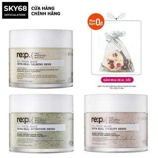 [Mã FMCGM100 - 10% đơn 500K] Mặt Nạ Đất Sét Cấp ẩm Và Phục Hồi Da RE P Bio Fresh Mask With Real Herbs 130g thumbnail