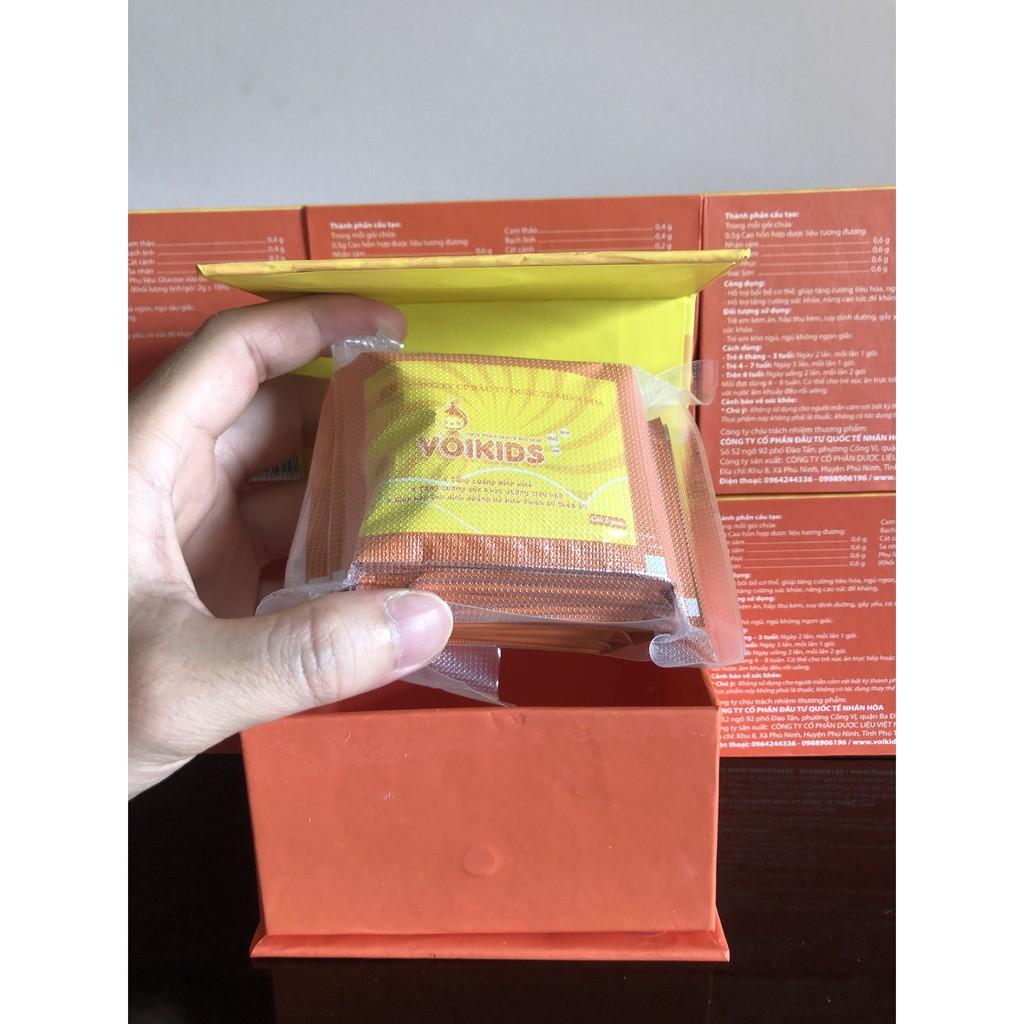 Cốm cải thiện biếng ăn VOIKIDS (tăng cường đề kháng, ngủ ngon, ăn ngon cho bé) - hộp 20 gói