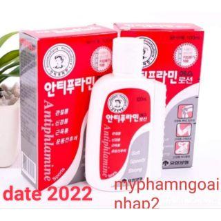 FREESHIP ☆(mẫu mới)Dầu Nóng Xoa Bóp Hàn Quốc ANTIPHALAMINE 100ml( Date 2022 )