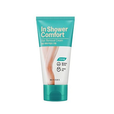 Kem Tẩy Lông Missha In Shower Comfort Hair Cream 100g