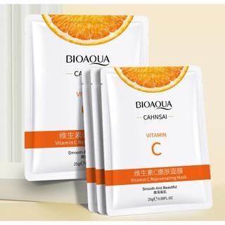 Mặt nạ Bioaqua Vitamin C cấp ẩm dưỡng trắng da bổ sung vitamin C thumbnail