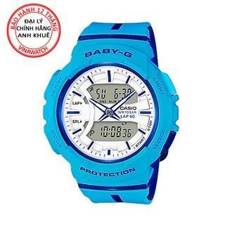Đồng hồ Nữ Baby-G Casio dây nhựa kim-điện tử BGA-240L-2A2DR - Chính hãng Casio Anh Khuê thumbnail