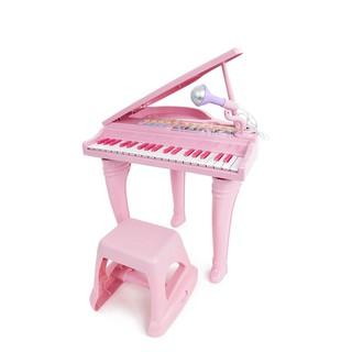 Đồ chơi âm nhạc cho bé - Đàn piano cổ điển kèm mic thu âm màu hồng Winfun - 02045-G - đồ chơi cho bé 3 tuổi trở lên thumbnail
