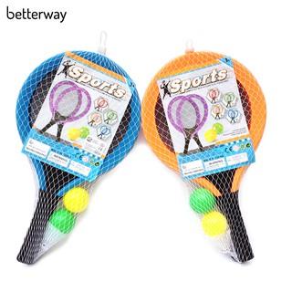 1 Đôi Vợt Tennis Với Bóng Lông Cho Trẻ Em thumbnail
