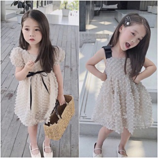 Đầm váy công chúa cho bé gái - Đầm váy dự tiệc phong cách Hàn Quốc cho bé gái sang chảnh