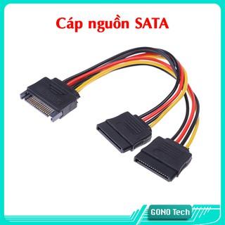 Cáp nguồn SATA 1 ra 2 cho ổ cứng máy tính đồng bộ PC