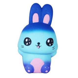 Slow rebound Cute Soft starry rabbit Easter gift decompression toy