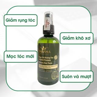 Chai xịt dưỡng tóc tinh dầu bưởi kích mọc tóc Tabaha, giảm rụng tóc Pomelo 120ml thumbnail