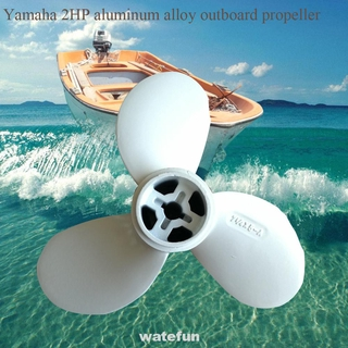 2HP 7 1/4 X 5 A Boat Propeller Practical Replacement Ship Outboard Motor Parts For Yamaha