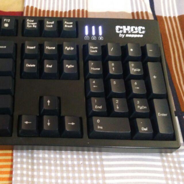 Bàn phím cơ Noppoo Choc 2-104 Black switch (2nd)