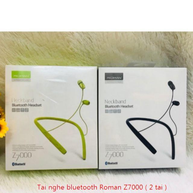 [Mã 267ELSALE hoàn 7% đơn 300K] Tai Nghe Bluetooth Roman Z7000 Hàng Chính Hãng có bảo hành