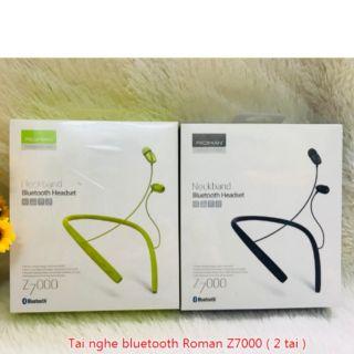 [Mã ELMS4 giảm 7% đơn 500K] Tai Nghe Bluetooth Roman Z7000 Hàng Chính Hãng có bảo hành thumbnail
