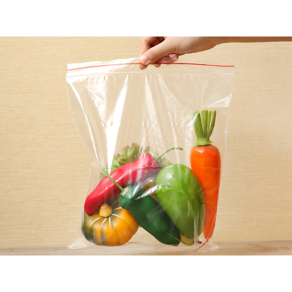 Túi zipper đựng thực phẩm Ringo 25.6 x 28cm (20 túi)