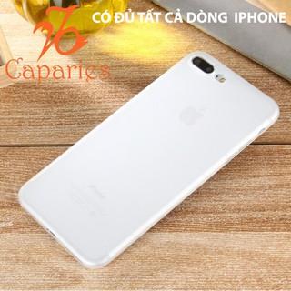 (Có 9 Màu) Ốp Lưng Iphone 7 plus / 8 plus Lụa Nhám chống bám vân tay