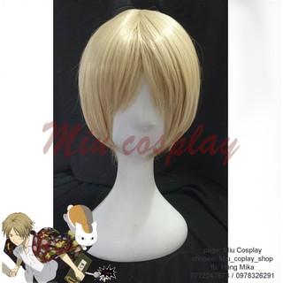 tóc giả cosplay nhân vật Natsume