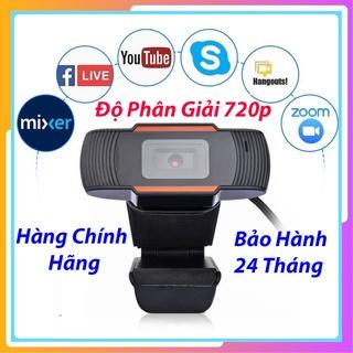 Webcam Có Mic Cho Máy Tính Học Online – Trực Tuyến – Hội Họp – Gọi Video hình ảnh sắc nét 720p