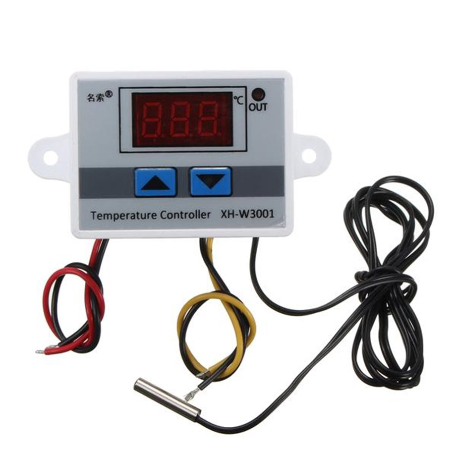 XH-W3001 Digital Display LED Temperature Controller Thermostat Control Switch