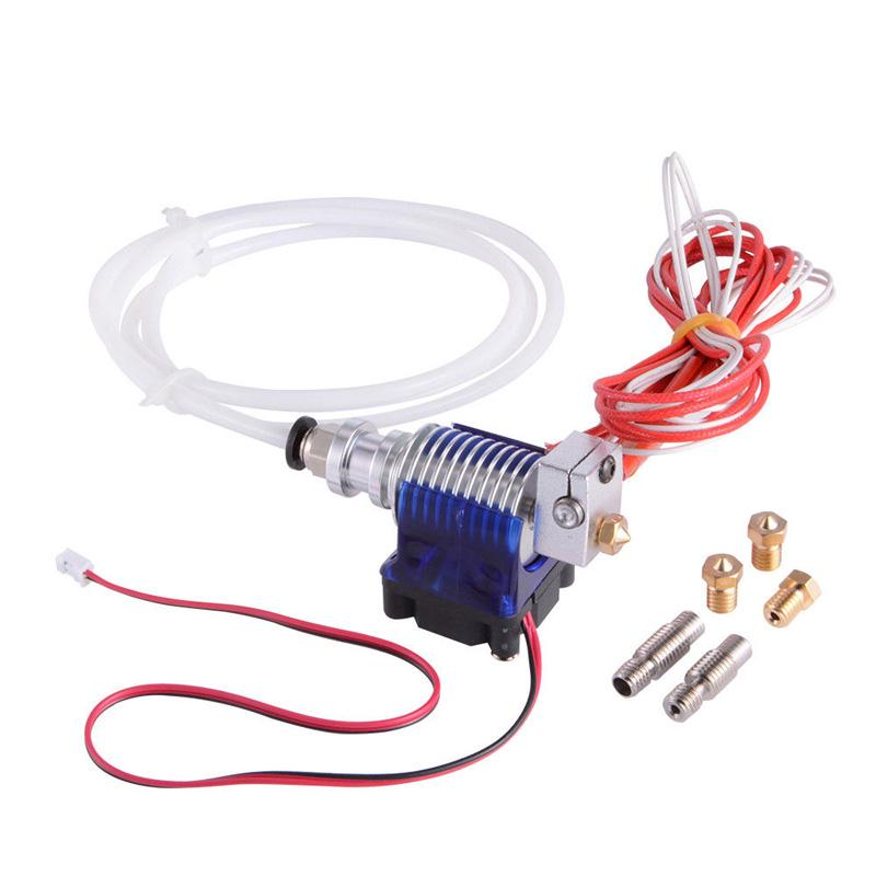V6 J-head Hotend 1.75mm 0.4mm Long Distance Extruder w/ 5PCs assorted S8L2