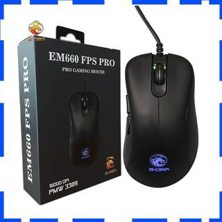 Chuột Gaming E-Dra EM660 Pro FPS ( LED RGB, 16000 DPI, Phần mềm tùy chỉnh ) - Bảo hành 24 tháng thumbnail
