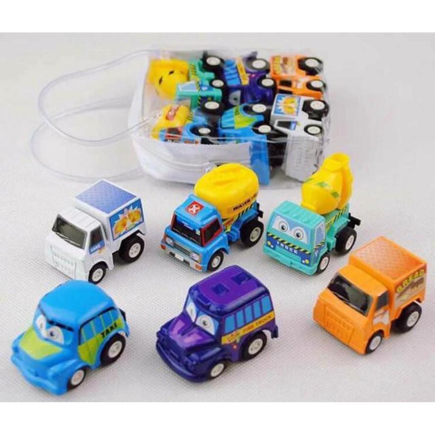 Bộ đồ chơi ô tô nhí 6 chiếc cho bé vui chơi - 2757384 , 532386143 , 322_532386143 , 50000 , Bo-do-choi-o-to-nhi-6-chiec-cho-be-vui-choi-322_532386143 , shopee.vn , Bộ đồ chơi ô tô nhí 6 chiếc cho bé vui chơi