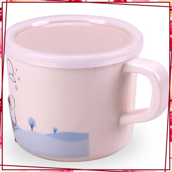 [SALE SIÊU SỐC] Cốc uống nước có nắp đậy dùng cho trẻ em