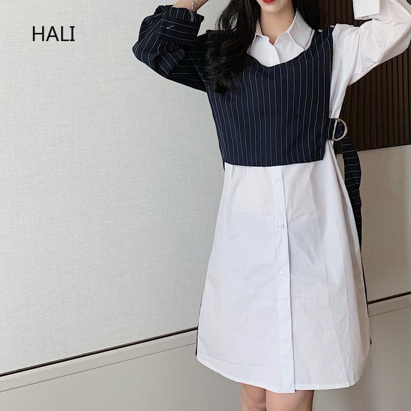 Đầm midi Hàn Quốc tay dài cổ V dáng ôm cho nữ - 21748587 , 2694182925 , 322_2694182925 , 315658 , Dam-midi-Han-Quoc-tay-dai-co-V-dang-om-cho-nu-322_2694182925 , shopee.vn , Đầm midi Hàn Quốc tay dài cổ V dáng ôm cho nữ