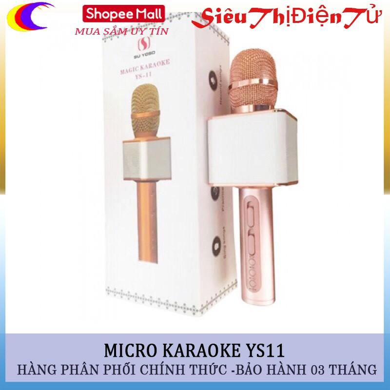Mic karaoke YS11 kết nối bluetooth - 2970832 , 245070440 , 322_245070440 , 560000 , Mic-karaoke-YS11-ket-noi-bluetooth-322_245070440 , shopee.vn , Mic karaoke YS11 kết nối bluetooth
