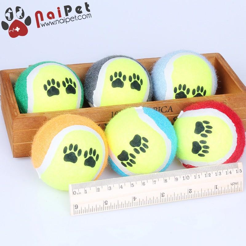 Đồ Chơi Bóng Tennis Cho Chó Mèo DCTC003