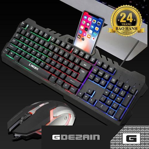 [Combo] Phím + Chuột L200 Gaming/Chuyên game Giá chỉ 250.000₫