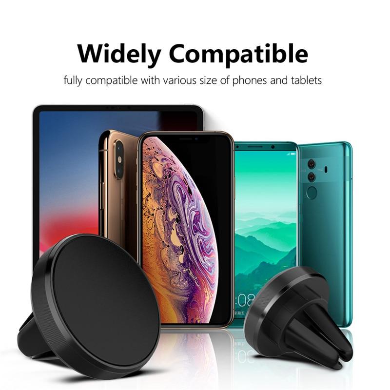 Giá Đỡ Điện Thoại Gắn Lỗ Thông Gió Xe Ô Tô Cho Iphone 12 11 Samsung Xiaomi Huawei