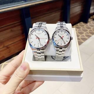 Đồng hồ đôi chính hãng Tissot T101.210.11.031.00- T101.410.11.031.01 - Máy Quartz pin - Kính Sapphire thumbnail