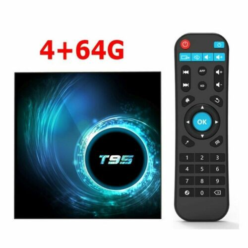 Tv BOX AKASO T95 Allwinner H616 Android 10.0 4 lõi 2.4G WiFi 6