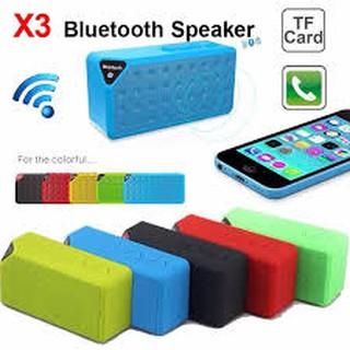Loa Bluetooth Wireless Speaker X3 - Hàng nhập khẩu -dc1261