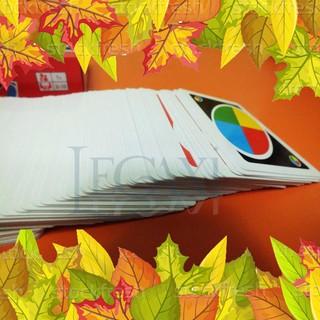 (ẢNH TỰ CHỤP) Bài UNO cỡ 12cm x 9cm 108 lá hàng loại đẹp bóng, cứng chất lượng tuyệt vời
