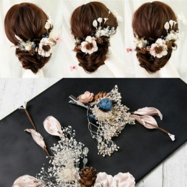 Cài tóc cô dâu