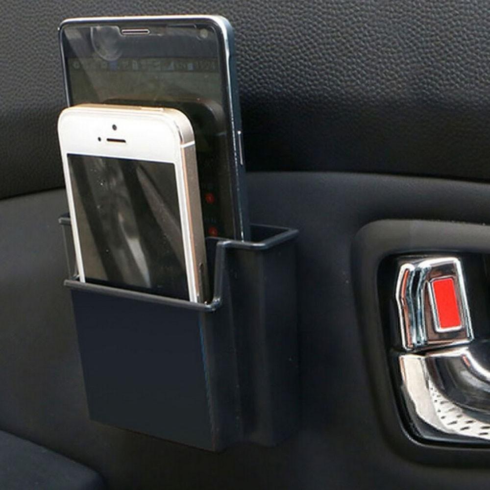 Hộp 2 ngăn đựng điện thoại trên xe hơi